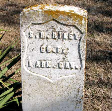 RILEY (VETERAN UNION), SSETH H. - Carroll County, Arkansas | SSETH H. RILEY (VETERAN UNION) - Arkansas Gravestone Photos