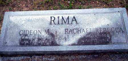 RIMA, GIDEON M - Carroll County, Arkansas | GIDEON M RIMA - Arkansas Gravestone Photos