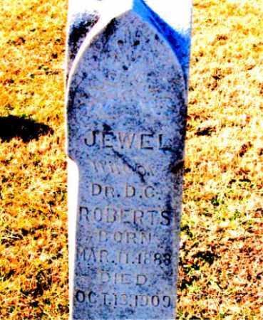 ROBERTS, JEWEL - Carroll County, Arkansas | JEWEL ROBERTS - Arkansas Gravestone Photos