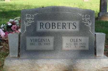 ROBERTS, OLEN - Carroll County, Arkansas   OLEN ROBERTS - Arkansas Gravestone Photos