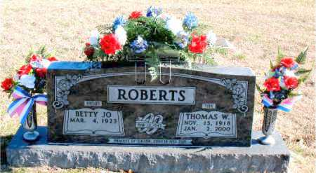 ROBERTS, THOMAS W. - Carroll County, Arkansas | THOMAS W. ROBERTS - Arkansas Gravestone Photos