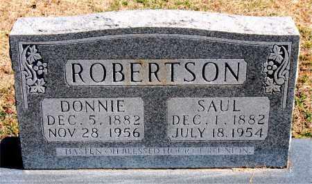 ROBERTSON, SAUL - Carroll County, Arkansas | SAUL ROBERTSON - Arkansas Gravestone Photos