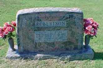 ROBERTSON, OSSIE - Carroll County, Arkansas | OSSIE ROBERTSON - Arkansas Gravestone Photos