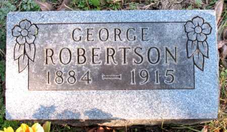 ROBERTSON, GEORGE - Carroll County, Arkansas | GEORGE ROBERTSON - Arkansas Gravestone Photos