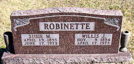 ROBINETTE, SUSIE M - Carroll County, Arkansas | SUSIE M ROBINETTE - Arkansas Gravestone Photos