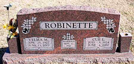 ROBINETTE, VELMA - Carroll County, Arkansas | VELMA ROBINETTE - Arkansas Gravestone Photos