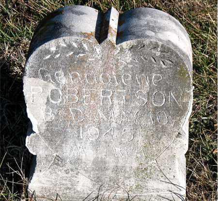 ROBERTSON, GENDALENE - Carroll County, Arkansas | GENDALENE ROBERTSON - Arkansas Gravestone Photos
