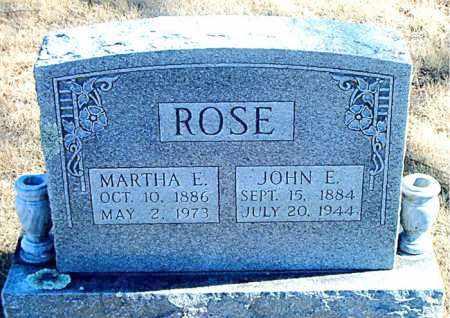 ROSE, MARTHA E. - Carroll County, Arkansas | MARTHA E. ROSE - Arkansas Gravestone Photos