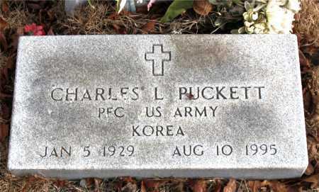RUCKETT  (VETERAN KOR), CHARLES  L. - Carroll County, Arkansas | CHARLES  L. RUCKETT  (VETERAN KOR) - Arkansas Gravestone Photos