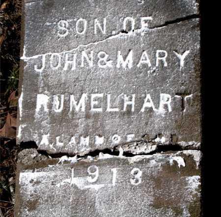 RUMELHART, INFANT SON - Carroll County, Arkansas | INFANT SON RUMELHART - Arkansas Gravestone Photos