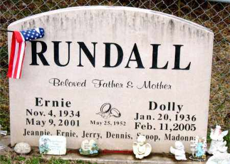 RUNDALL, DOLLY - Carroll County, Arkansas | DOLLY RUNDALL - Arkansas Gravestone Photos