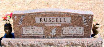RUSSELL, GOLDIE E. - Carroll County, Arkansas | GOLDIE E. RUSSELL - Arkansas Gravestone Photos