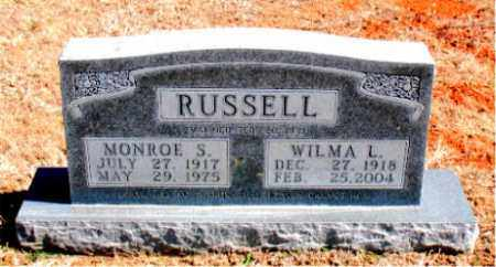RUSSELL, WILMA L. - Carroll County, Arkansas   WILMA L. RUSSELL - Arkansas Gravestone Photos