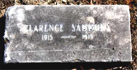 SAMMONS, CLARENCE - Carroll County, Arkansas | CLARENCE SAMMONS - Arkansas Gravestone Photos