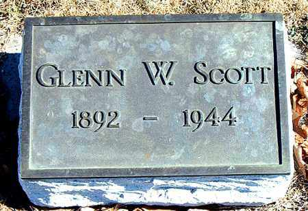 SCOTT, GLENN W. - Carroll County, Arkansas | GLENN W. SCOTT - Arkansas Gravestone Photos