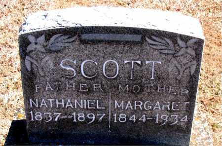 SCOTT, NATHANIEL - Carroll County, Arkansas | NATHANIEL SCOTT - Arkansas Gravestone Photos