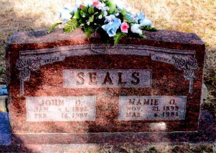 SEALS, MAMIE O - Carroll County, Arkansas | MAMIE O SEALS - Arkansas Gravestone Photos