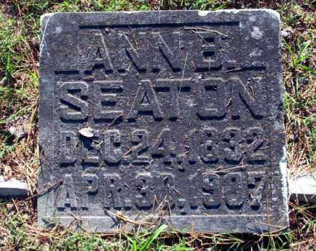 SEATON, ANN B - Carroll County, Arkansas | ANN B SEATON - Arkansas Gravestone Photos