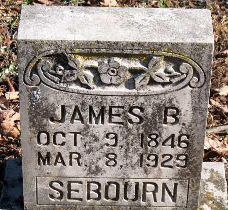 SEBOURN, JAMES B. - Carroll County, Arkansas | JAMES B. SEBOURN - Arkansas Gravestone Photos
