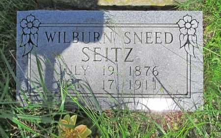 SEITZ, WILBURM SNEED (REPLACEMENT) - Carroll County, Arkansas | WILBURM SNEED (REPLACEMENT) SEITZ - Arkansas Gravestone Photos