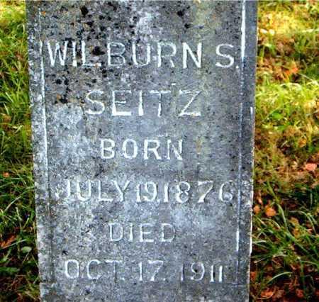 SEITZ, WILBURN  S. - Carroll County, Arkansas   WILBURN  S. SEITZ - Arkansas Gravestone Photos
