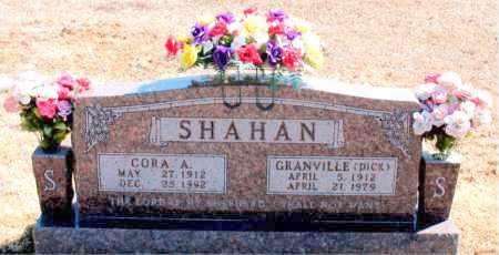 SHAHAN, CORA A. - Carroll County, Arkansas | CORA A. SHAHAN - Arkansas Gravestone Photos