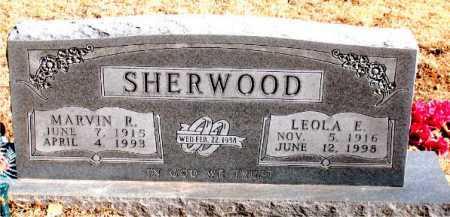 SHERWOOD, LEOLA E - Carroll County, Arkansas | LEOLA E SHERWOOD - Arkansas Gravestone Photos