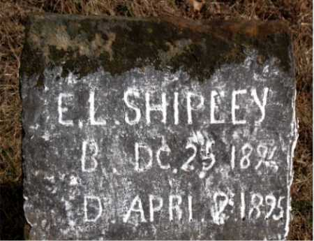 SHIPLEY, E.L. - Carroll County, Arkansas   E.L. SHIPLEY - Arkansas Gravestone Photos