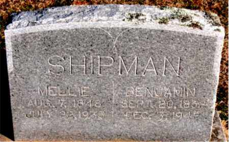 SHIPMAN, MELLIE - Carroll County, Arkansas | MELLIE SHIPMAN - Arkansas Gravestone Photos