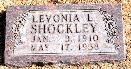 SHOCKLEY, LEVONIA L. - Carroll County, Arkansas   LEVONIA L. SHOCKLEY - Arkansas Gravestone Photos