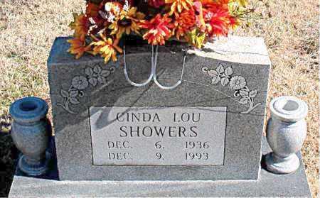 SHOWERS, CINDA LOU - Carroll County, Arkansas | CINDA LOU SHOWERS - Arkansas Gravestone Photos