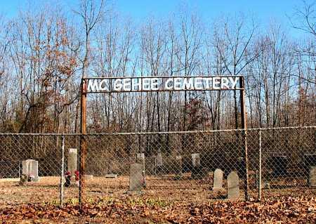 *MCGEHEE CEMETERY SIGN,  - Carroll County, Arkansas |  *MCGEHEE CEMETERY SIGN - Arkansas Gravestone Photos
