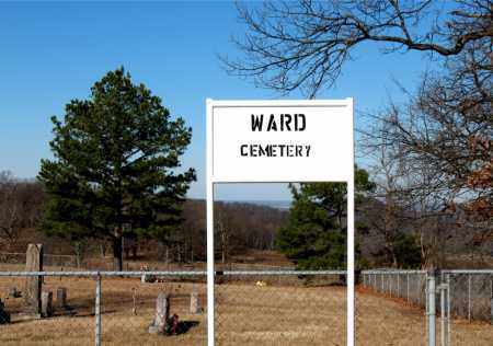 *WARD CEMETERY SIGN,  - Carroll County, Arkansas |  *WARD CEMETERY SIGN - Arkansas Gravestone Photos