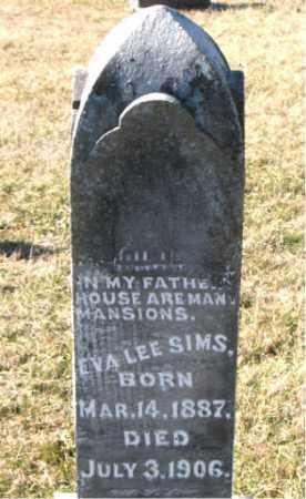 SIMS, EVA  LEE - Carroll County, Arkansas | EVA  LEE SIMS - Arkansas Gravestone Photos