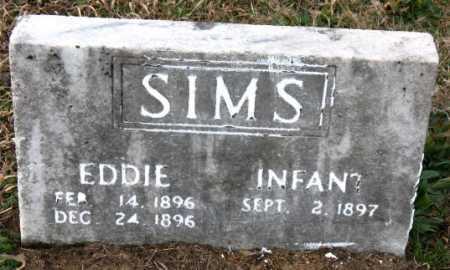 SIMS, EDDIE - Carroll County, Arkansas | EDDIE SIMS - Arkansas Gravestone Photos