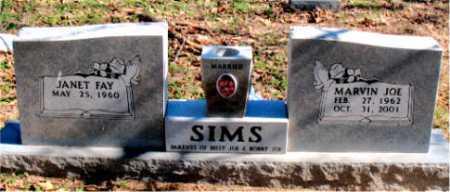 SIMS, MARVIN JOE - Carroll County, Arkansas   MARVIN JOE SIMS - Arkansas Gravestone Photos