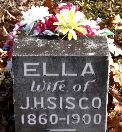 "SISCO, AMANDA ELLEN ""ELLA"" - Carroll County, Arkansas | AMANDA ELLEN ""ELLA"" SISCO - Arkansas Gravestone Photos"