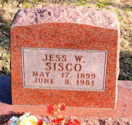 SISCO, JESS W - Carroll County, Arkansas   JESS W SISCO - Arkansas Gravestone Photos