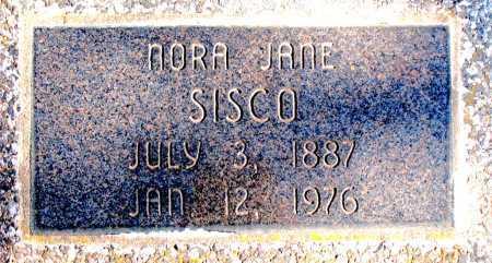 SISCO, NORA JANE - Carroll County, Arkansas   NORA JANE SISCO - Arkansas Gravestone Photos