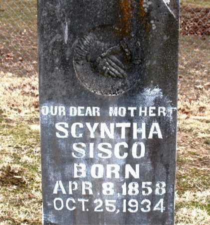 SISCO, SCYNTHA - Carroll County, Arkansas | SCYNTHA SISCO - Arkansas Gravestone Photos