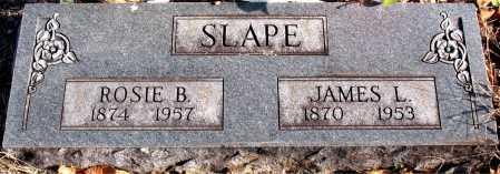 SLAPE, ROSIE B. - Carroll County, Arkansas | ROSIE B. SLAPE - Arkansas Gravestone Photos