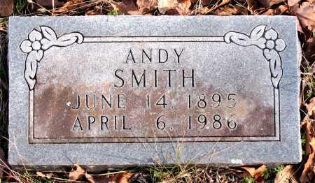 SMITH, ANDY - Carroll County, Arkansas | ANDY SMITH - Arkansas Gravestone Photos