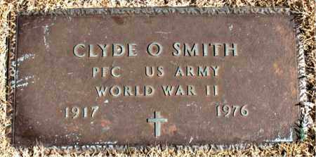 SMITH (VETERAN WWII), CLYDE O - Carroll County, Arkansas | CLYDE O SMITH (VETERAN WWII) - Arkansas Gravestone Photos