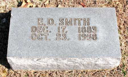 SMITH, E. D. - Carroll County, Arkansas | E. D. SMITH - Arkansas Gravestone Photos