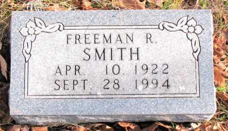 SMITH, FREEMAN  R. - Carroll County, Arkansas   FREEMAN  R. SMITH - Arkansas Gravestone Photos