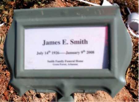 SMITH, JAMES E - Carroll County, Arkansas | JAMES E SMITH - Arkansas Gravestone Photos