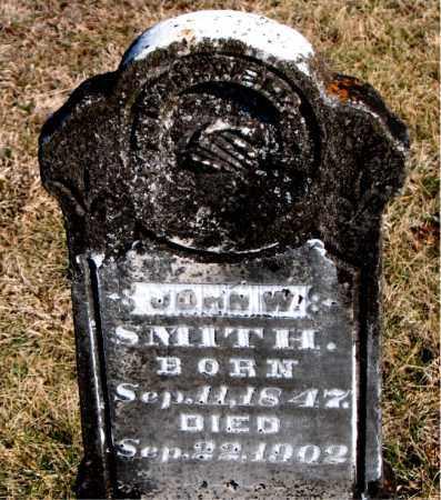 SMITH, JOHN W - Carroll County, Arkansas   JOHN W SMITH - Arkansas Gravestone Photos