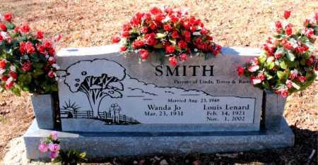 SMITH, LOUIS LENARD - Carroll County, Arkansas | LOUIS LENARD SMITH - Arkansas Gravestone Photos