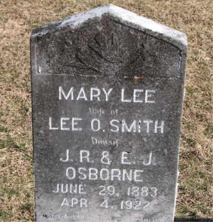 SMITH, MARY LEE - Carroll County, Arkansas | MARY LEE SMITH - Arkansas Gravestone Photos