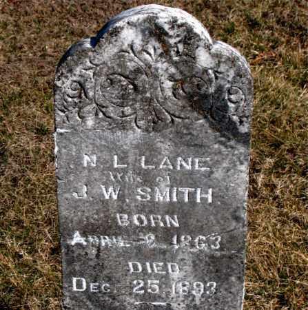 SMITH, N L - Carroll County, Arkansas | N L SMITH - Arkansas Gravestone Photos